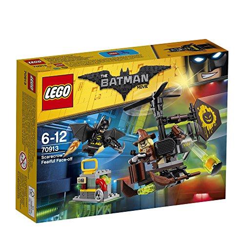 LEGO DC Comics 70913 Batman Movie Scarecrow Fearful Face-Off Toy