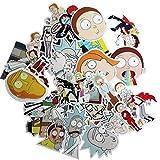MMilelo Vinyl Aufkleber 35 Stück Wasserdicht Graffiti Decals Stickerbomb für Auto, Skateboard, Koffer, Motorräder, Fahrräder, Boote, Laptop, Snowboard Gepäck und Glatte Oberfläche (H02)