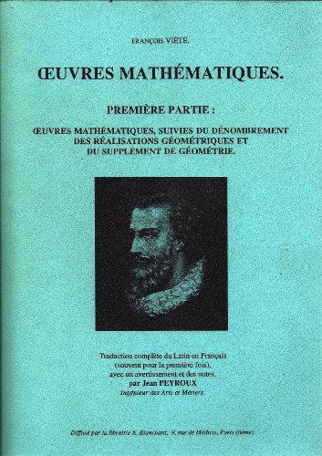 Oeuvres complètes : Tome 1, Algèbre, analyse