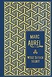Wege zu sich selbst: Leinen mit Goldprägung - Marc Aurel