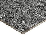BODENMEISTER Teppichboden Auslegware Meterware Schlinge Grau 400 cm und 500 cm Breit, verschiedene Längen, Variante: 7 x 5 M, 1 Stück, 700x500, 7205151BM002_700x500