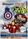 Los Vengadores. Héroes en acción: Libro con llavero par Marvel