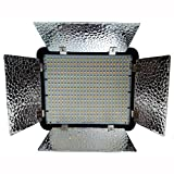 #6: Simpex Professional 400 LED Video Light Extra bright Dual Colour LED With Battery & charger