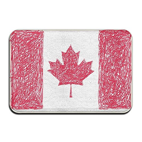 PZLETVslzb Home Door Mat Canada Flag Doormat Door Mats Entrance Rugs Anti Slip 4060 for Indoor Outdoor - Indoor-flag-kit