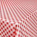 Wachstuchtischdecke Wachstuch Wachstischdecke Tischdecke abwaschbar Karo Kariert von ANRO - Gartenmöbel von Du und Dein Garten
