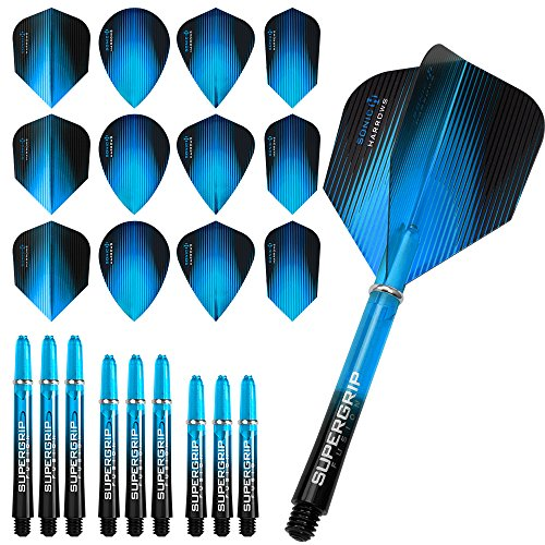 harrows-sonic-fusion-combo-kit-dart-flights-and-shafts-combo-kit-aqua-blue-includes-darts-corner-cur
