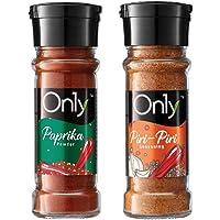 On1y Spice Garden (Set of 2)   Paprika Powder (52g) + Piri-Piri Seasoning (52g)