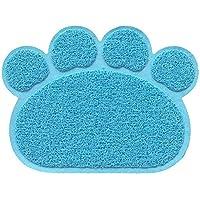 YUnnuopromi - Mantel Individual Rectangular para Mascotas en Forma de Huella (1 Unidad, PVC, Almohadilla para Dormir para Gatos)