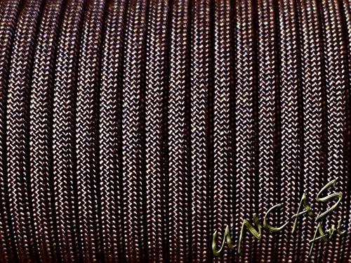 Original bracelet en paracorde 550 type corde 3–30 m-couleur : marron foncé