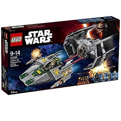 LEGO 75150 Star Wars Vader's TIE Advanced Vs A-Wing Starfighter Construction Set