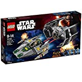 LEGO Star Wars TM - Tie Advanced de Vader vs. A-Wing Starfighter...