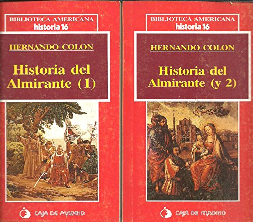 Historia del almirante. Volumen II