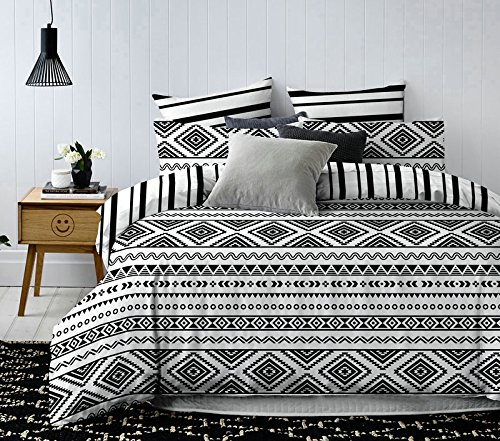DecoKing Premium Ropa Cama 200x200 cm 2 Fundas Almohada
