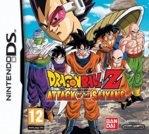 Dragon Ball Z: Attack of the Saiyans Nintendo DS