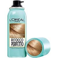 L'Oréal Paris Ritocco Perfetto, Spray Istantaneo Correttore Per Radici E Capelli Bianchi, Colore: Biondo Scuro, 4 Biondo…