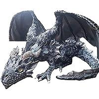 Grand Dragon Accroupi Sculpture-Dragon Gardien Voiture Ornements De Maison, Figurine De Dragon Statues Décoration…