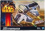 Star Wars A5736 Obi-Wan Jedi Starfighter Vehicle Class II with Missile Launcher