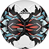 adidas Stabil Champ 9 Handball (Größe: 2 (Damen), white/black/energy blue s17/energy s17)