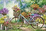Castorland C-103898-2 The Flower Mart, 1000 Teile Puzzle, bunt