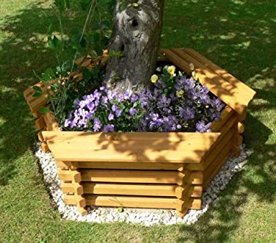 Intalogs – Planter with 3 Seater Bench, Medium from Intalogs