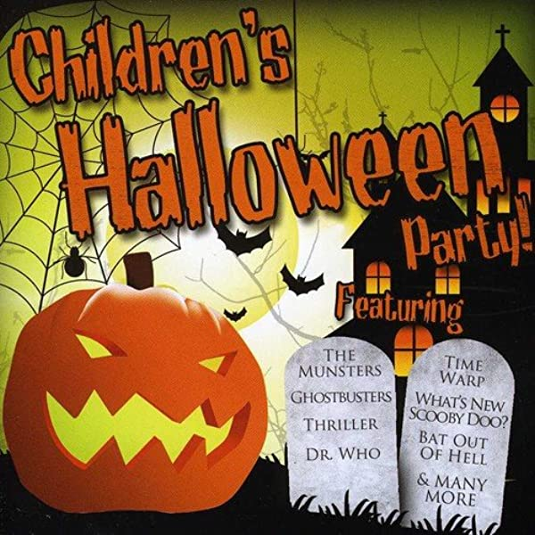 Children S Halloween Party Kids Halloween Party Music Songs Childrens Monster Mash Amazon Co Uk Music