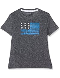 Tommy Hilfiger Boy's Ame Iconic Flag CN Tee S/S T-Shirt