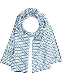 Lacoste Damen Tuch RE2632, Blau (Blanc/Thermal-Marine), Taille unique (Herstellergröße: TU)