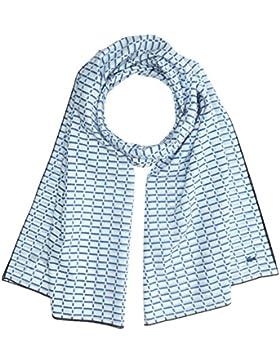 Lacoste Damen Tuch RE2632 Blau (Blanc/Thermal-Marine), One Size (Herstellergröße: TU)
