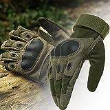 KT-SUPPLY Motorrad Handschuhe Vollfinger Für Painball Airsoft Militär Und Taktischen Aktivitäten Armeegrün M - 2