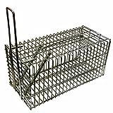Piège à Rat & Souris Piège de capture 21 cm - Cage - Pour Animaux Avec une entrée...