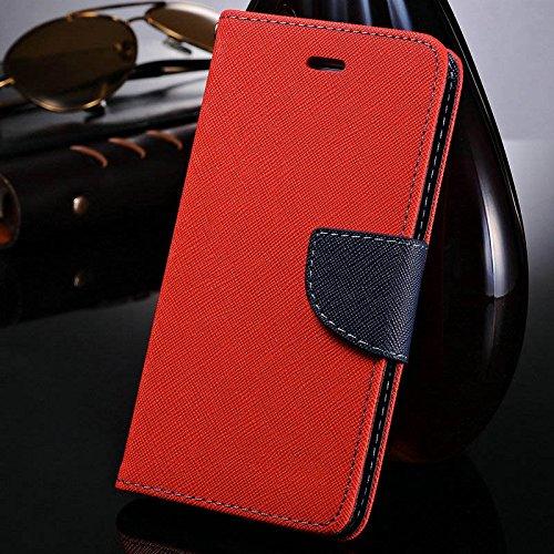 aridox (TM) Étui de luxe en cuir pour iPhone 611,9cm Étui à rabat style portefeuille en cuir PU Coque Support Porte-cartes avec logo pour Apple iPhone 6