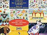 Melissa & Doug- Adventure Pad Juego con Pegatines Reutilizables, Multicolor (19115)