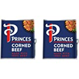 Princes Corned Beef Tinned Meat 2 x 340g