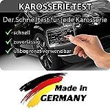 Grip Magnetkarte - Karosserie Test beim Autokauf, Lacktester, Spachtelprüfer für Karosserie Check, Auto Lack Tester oder Prüfer - bekannt aus TV-Werbung