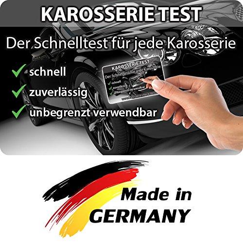 JEWADO Grip Magnetkarte - Karosserie Test beim Autokauf, Lacktester, Spachtelprüfer für Karosserie Check, Auto Lack Tester oder Prüfer - bekannt aus TV-Werbung (Thickness Paint Tester)