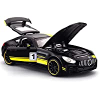 METRO TOY'S & GIFT 1: 32 Alloy Metal Benzamide GT Gtr Pull Back Diecast Car model with Sound Light Mini Auto Toy for…