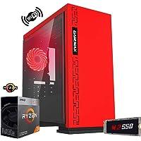 Pc Gaming ryzen 3,scheda video radeon™ Vega 8,Ram 8gb ddr4,Ssd M.2 256 Gb,Alimentatore 80 plus,Desktop/Wi Fi Hdmi Pc game gaming ready Pc Desktop gaming assemblato
