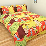 Axcellence Multi Color Cartoon Print Dou...