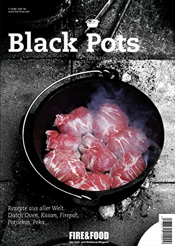 Black Fire Hat (Black Pots: FIRE&FOOD Bookazine N°2)
