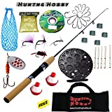 #4: Fishing Spinning Rod,Reel,Accessories Complete Combo