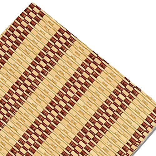 Estor enrollable YXX Cubierta persiana Exterior con Cable con Cenefa de Onda, bambú Rueda para Arriba un toldo de Sombra para la Ventana (Tamaño : 120x240cm)