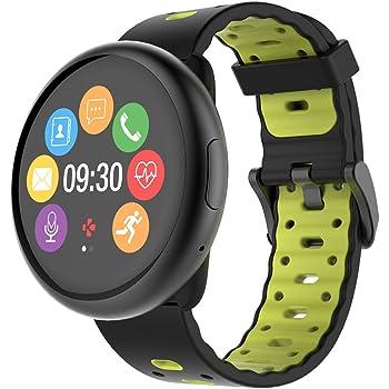 mykronoz zen cirle 2  MyKronoz ZeRound 2 HR Premium Smartwatch con schermo circolare ...