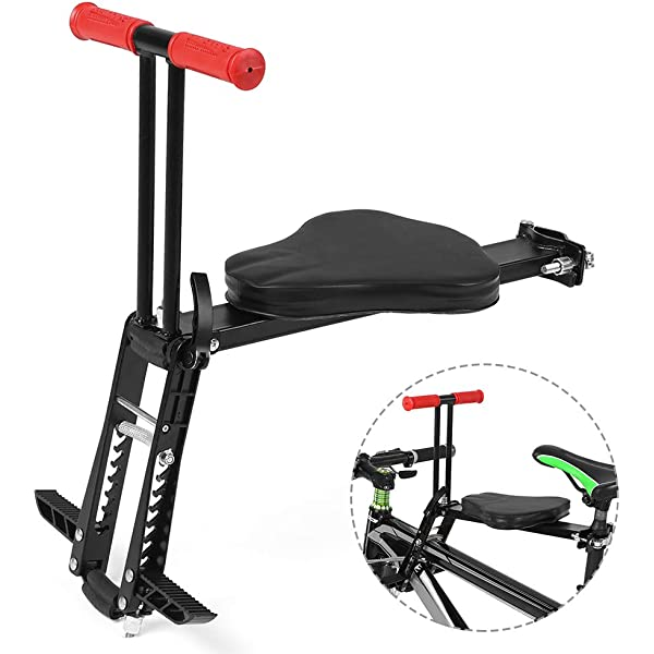 Portable Bicycle Bike Front Child Seat Saddle Children Kids Baby Carrier UK