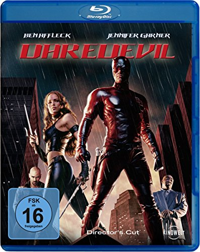 Daredevil [Blu-ray] [Director's Cut] (Rote Bösewicht Kostüme)