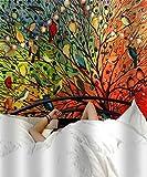 Orgner indischer Mandala-Wandteppich, Hippie-Motiv, Wandbehang, Boho, für Yoga und Meditation. Ref: Vögel/Vögel, 60 x 60 cm, 1 Stück, Mehrfarbig, 60 x 84