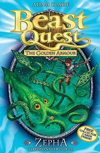 Zepha the Monster Squid: Series 2 Book 1 (Beast Quest)