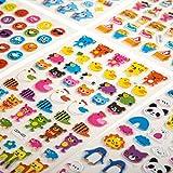 BK`s [Sticker [Aufkleber] [800 Stück] Smileys, Tiere, Fahrzeuge, Autos für Kinder, Babys, Karten, Laptop, Bücher, Joypads zum Tauschen und Sammeln