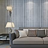 HANMERO papel pintado autoadhesivo rayas diseño para muebles vinilos pegatinas de pared para Cocina/mesa/escritorio/puerta/armario, color gris