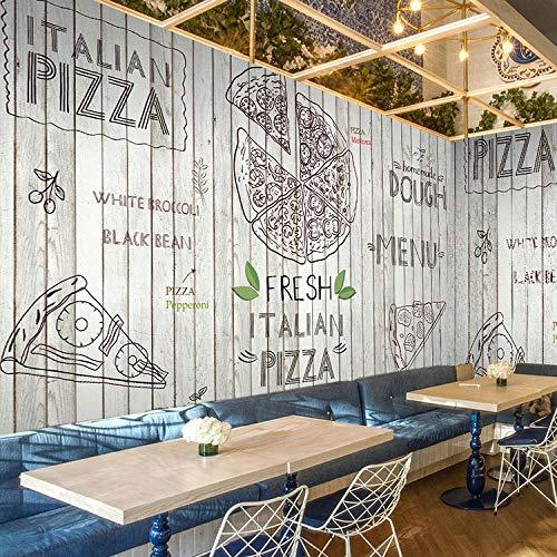 apeten Westlichen stil pizza thema wandbild restaurant tapete kuchen fototapete kaffee freizeit bar großes wandbild 350x256cm ()