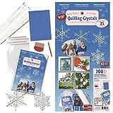 Quilling Set Karen Marie Crystal Faltstreifen Kristalle